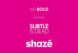 Shaze - Subtle Is Dead Event Coverage