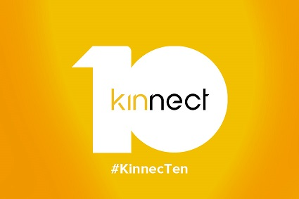 Kinnect celebrates ten successful years. Announces new client wins